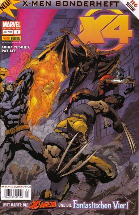 X-Men Sonderheft 1 - Das Cover
