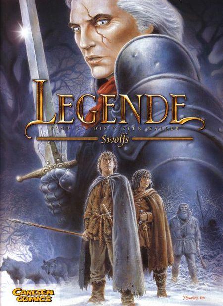 Legende #2 - Die tiefen Wälder - Das Cover
