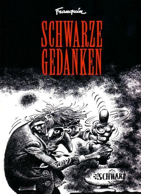 Schwarze Gedanken - Das Cover