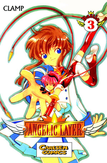 Angelic Layer 3 - Das Cover