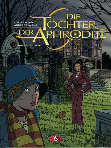 Die Töchter der Aphrodite 1: Mord à la Carte - Das Cover