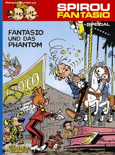 Fantasio und das Phantom - Das Cover