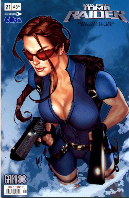 Tomb Raider #21 - Das Cover