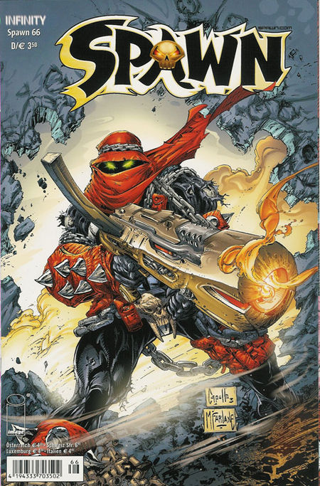 Spawn 66 - Das Cover