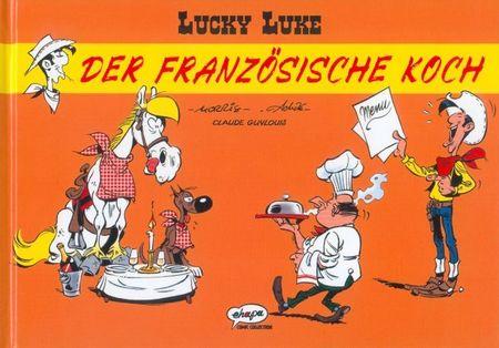 Lucky Luke - Der französische Koch - Das Cover