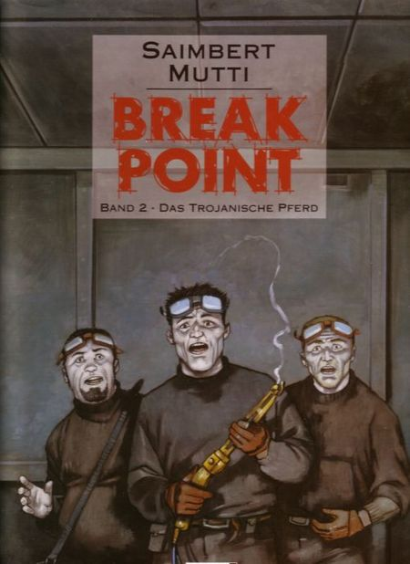 Break Point #2 - Das Trojanische Pferd - Das Cover