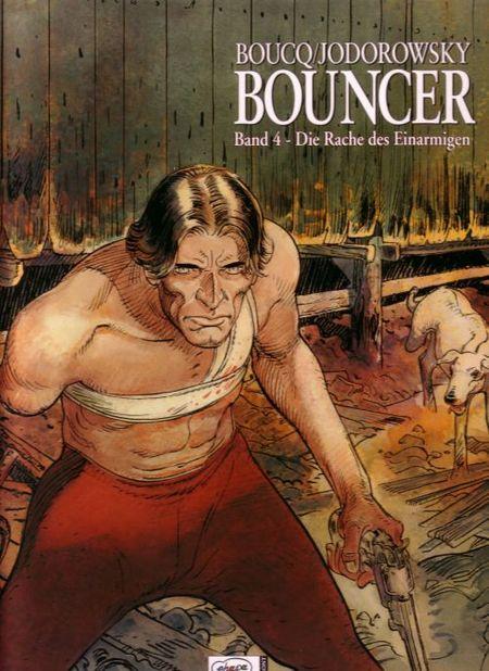 Bouncer - Die Rache des Einarmigen #4 - Das Cover