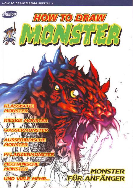 How to draw Manga Spezial 2 / How to draw Monster - Das Cover
