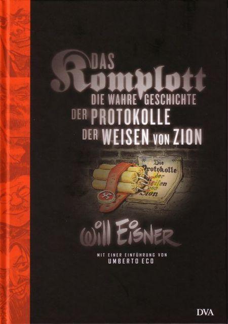 Das Komplott - Die wahre Geschichte der Weisen von Zion - Das Cover