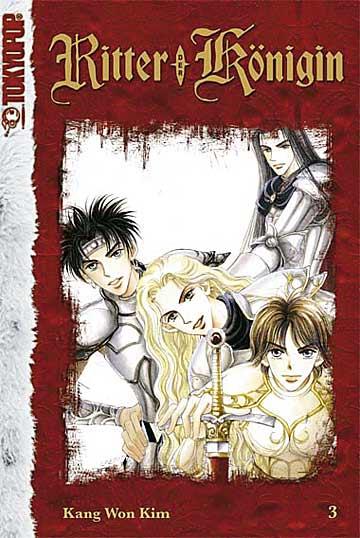 Ritter der Königin 3 - Das Cover