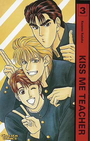 Kiss me Teacher 3 - Das Cover