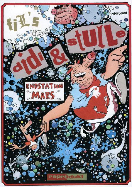 Didi & Stulle: Endstation Mars - Das Cover