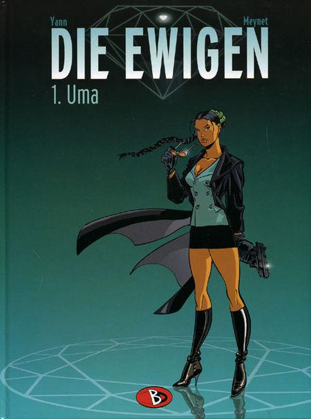 Die Ewigen 1: Uma - Das Cover