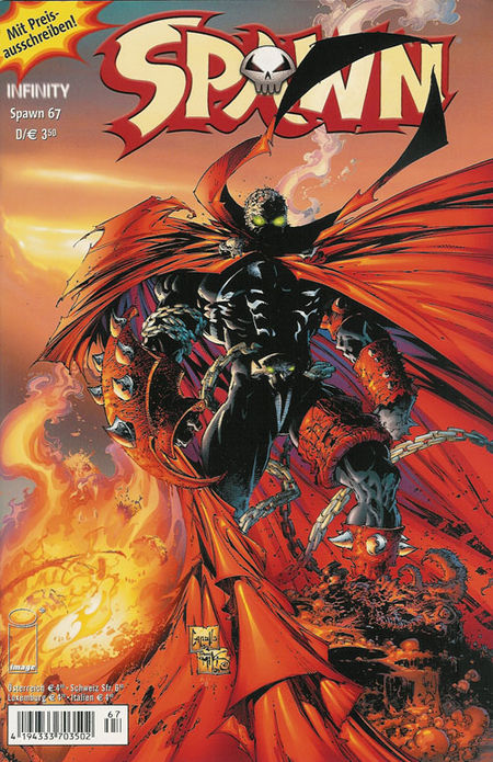 Spawn 67 - Das Cover