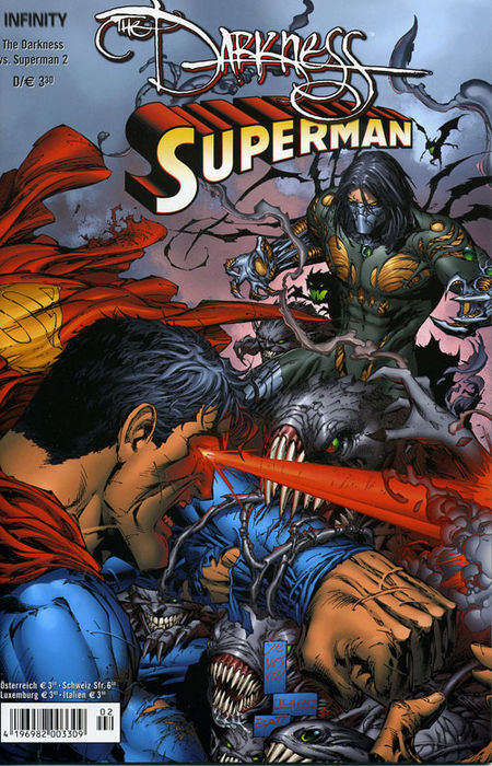 The Darkness vs. Superman 2 - Das Cover