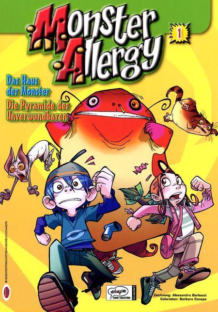 Monster Allergy 01 - Das Cover