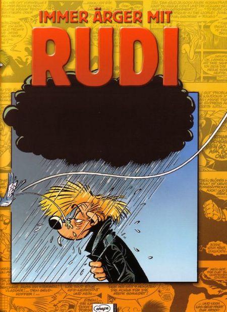 Immer Ärger mit Rudi - Das Cover