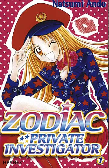Zodiac 1 - Das Cover