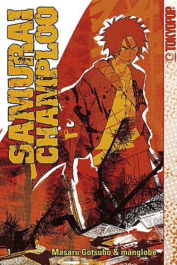 Samurai Champloo 1 - Das Cover