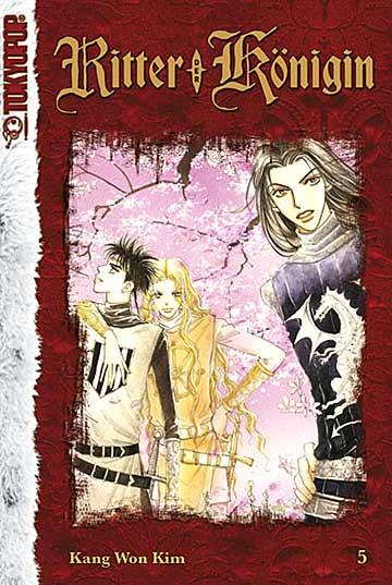 Ritter der Königin 5 - Das Cover