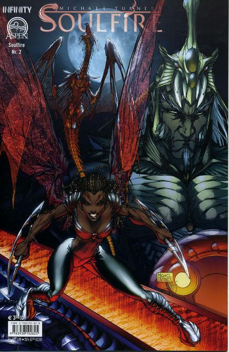 Soulfire 2 - Das Cover