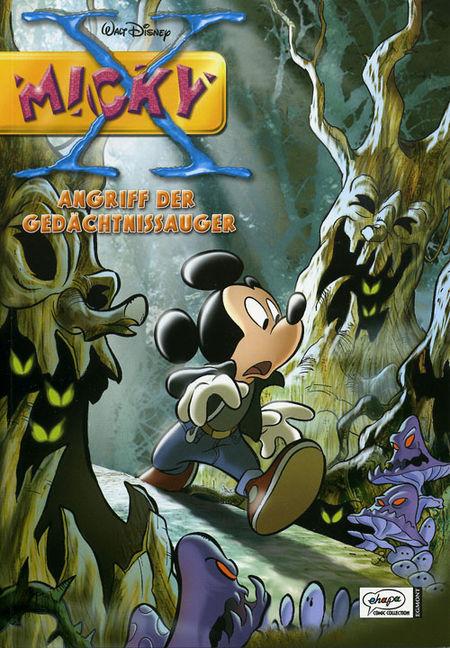 Micky X 4: Angriff der Gedächtnissauger - Das Cover
