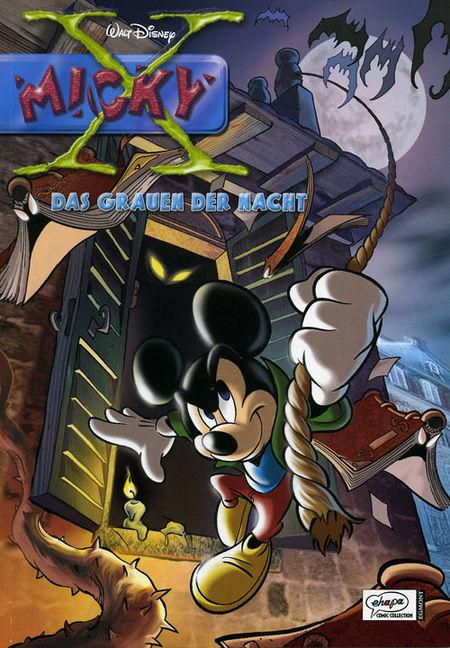 Micky X 5: Das Grauen der Nacht - Das Cover