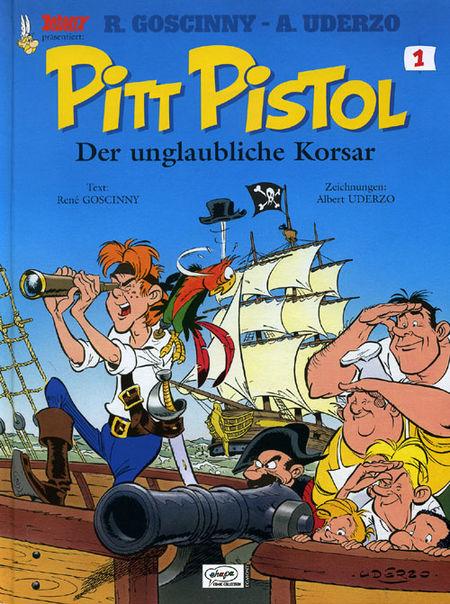 Pitt Pistol 1 - Das Cover