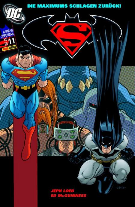 Superman/Batman 11 - Das Cover