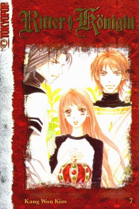 Ritter der Königin 7 - Das Cover