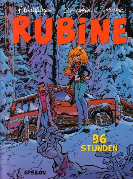 Rubine 8: 96 Stunden - Das Cover