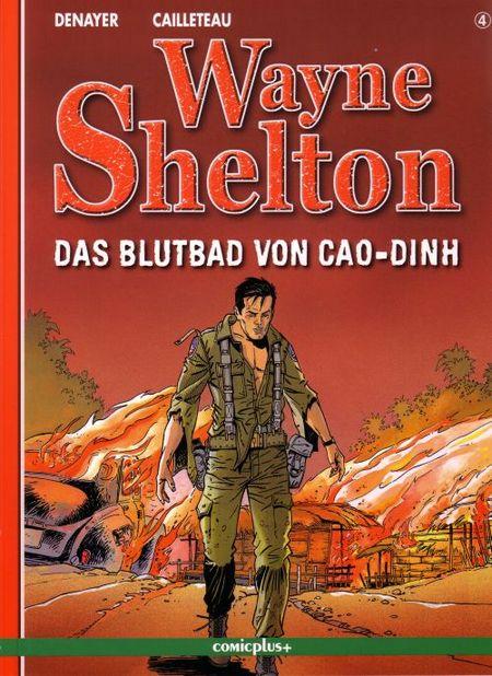 Wayne Shelton Band 4 - Das Blutbad von Cao-Dinh - Das Cover