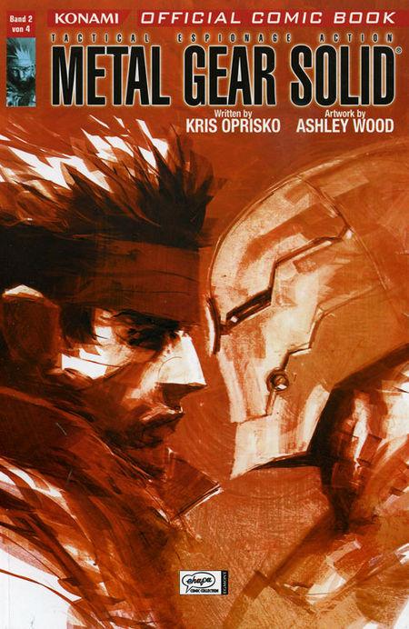 Metal Gear Solid 2 - Das Cover
