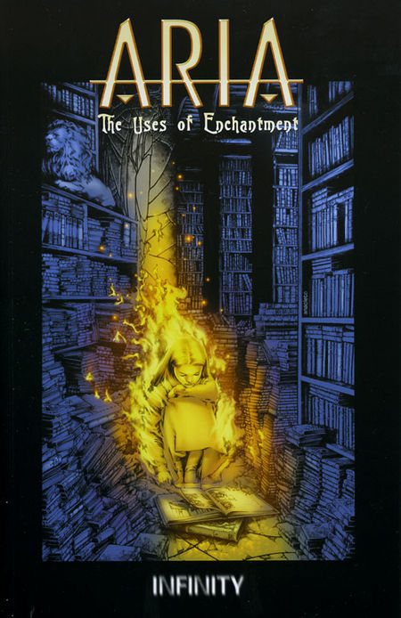 Aria - The Uses of Enchantment - Das Cover