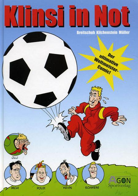 Klinsi in Not - Das Cover