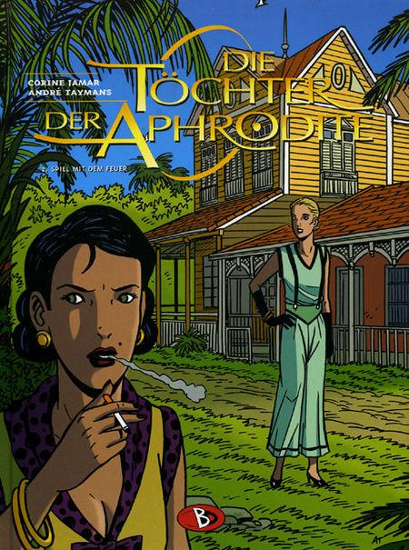 Die Töchter der Aphrodite 2: Spiel mit dem Feuer - Das Cover