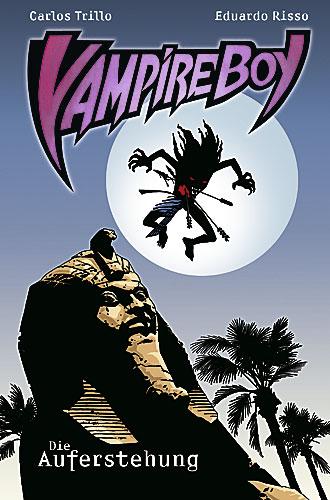 Vampire Boy 1: Die Auferstehung - Das Cover