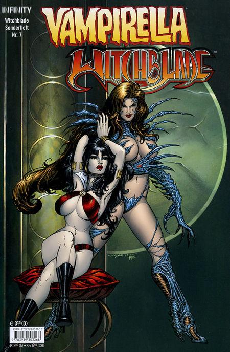 Witchblade Sonderheft 7: Vampirella / Witchblade - Das Cover