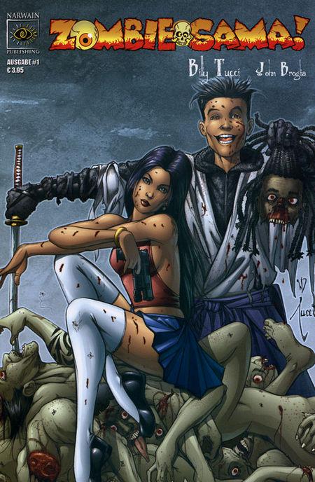 Zombie-Sama 1 - Das Cover