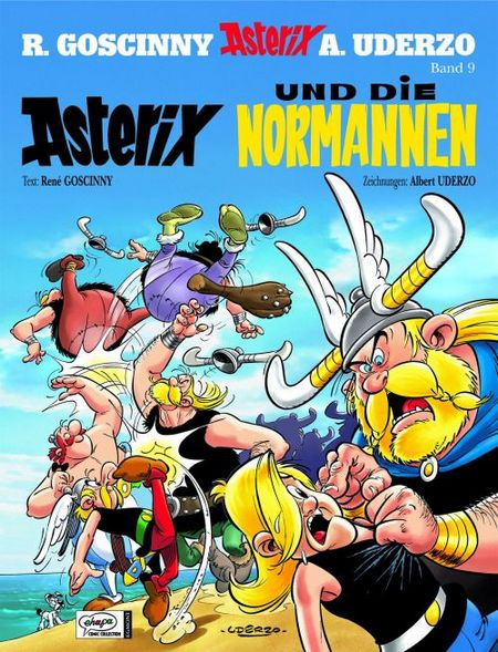 Asterix 9 - Asterix und die Normannen Sonderauflage mit neuem Cover - Das Cover