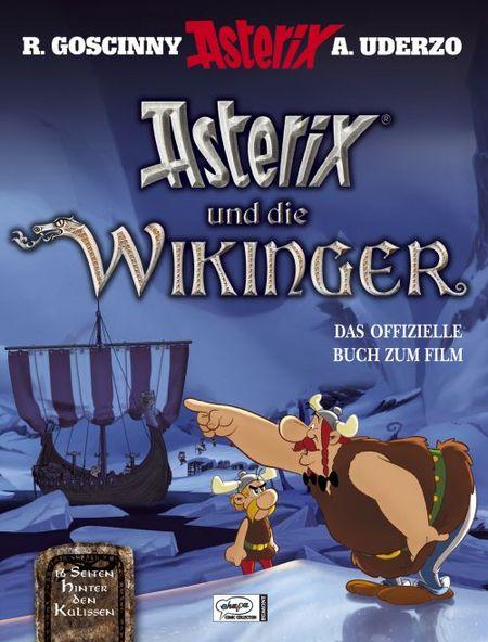 Asterix und die Wikinger - Das offizielle Buch zum Film - Das Cover