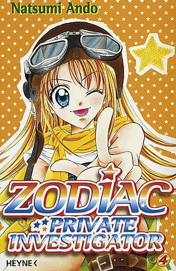 Zodiac 4 - Das Cover
