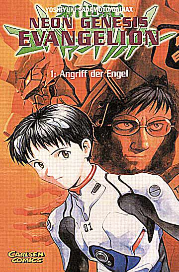 Neon Genesis Evangelion 1 - Das Cover