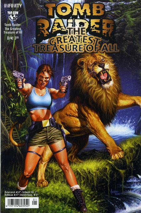 Tomb Raider: The Greatest Treasure Of All - Das Cover