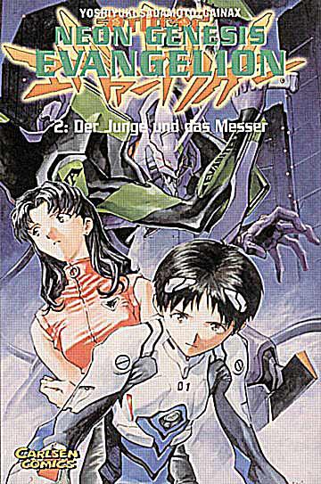Neon Genesis Evangelion 2 - Das Cover