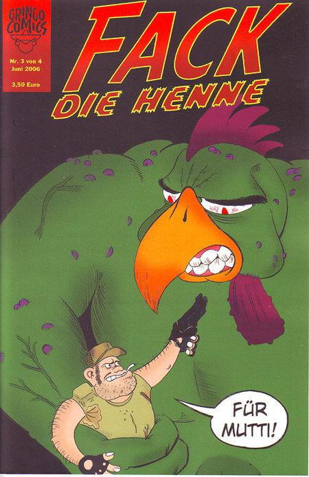 Fack Die Henne 3 von 4 - Das Cover