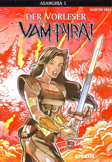 Asanghia 1: Der Vorleser der Vam-Pyräi - Das Cover
