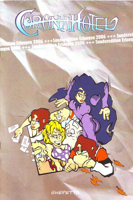 Corona Hotel (Sonderauflage Comic-Salon Erlangen) - Das Cover