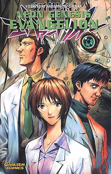 Neon Genesis Evangelion 8 - Das Cover