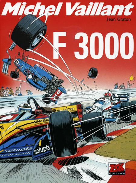 Michel Vaillant 52: F 3000 - Das Cover
